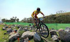El riojano Carlos Coloma, bronce en el mountain bike de Rio 2016.