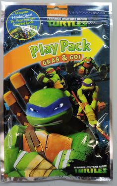 """Partytoyz Inc. - Teenage Mutant Ninja Turtles Grab N Go Play Pack - """"Ninjas in New York"""", $1.00 (http://www.partytoyz.com/teenage-mutant-ninja-turtles-grab-and-go-play-pack-party-favors-ninjas-in-new-york/)"""