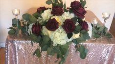 Diy Wedding Bar, Diy Wedding Backdrop, Diy Wedding Flowers, Diy Wedding Decorations, Diy Flowers, Flower Decorations, Wedding Table, Floral Wedding, Decor Wedding