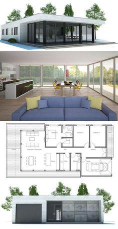 maisons maison moderneplans - Plan Maison Moderne Contemporaine