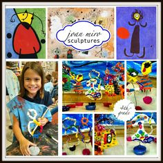 What a fun project! 4th graders kicked off the year by learning all about Spanish Surrealist artist, Joan Miro. 4th graders are already familiar with Picasso, so it was fun to compare and contrast ...
