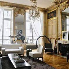 Paris Apartment, Paris, França. Projeto do designer Christian Liaigre. #architecture #arquitetura #interiores #arquiteturaeinteriores #arte #artes #arts #art #artlover #design #interiordesign #architecturelover #instagood #instacool #instadaily #furnituredesign #design #projetocompartilhar #davidguerra #arquiteturadavidguerra #shareproject #livingroom #livingroomdesign #paridesign #parisapartment #christianliaigre #paris #france