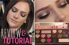 """Chocolate Bon Bons Palette---  1️⃣""""Divinity"""" into brow bone.  2️⃣""""Mocha"""" on the crease.  3️⃣""""Bordeaux"""" into inner and outer corners.  4️⃣""""Café Au Lait"""" into center of the lid with a damp brush.  5️⃣""""Mocha"""" and """"Bordeaux"""" on lower lash line."""