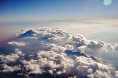 Volcán Popocatépetl desde el aire. 11 de enero de 2015. Crédito Fabrizzio Sandoval