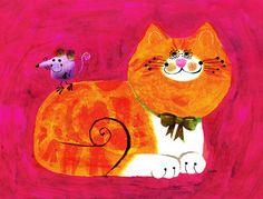 a cat named mackerel by Stephan Britt
