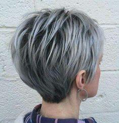 Graphite Grey ! Deze 10 korte kapsels in donker grijze tinten zijn helemaal WOW! - Pagina 5 van 10 - Kapsels voor haar