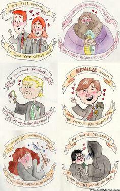 Harry Potter themed Valentines  #harrypotter #valentines