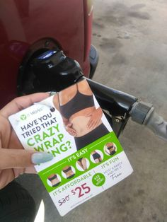 ItWorks picked up the tab for my gas today! #thankful