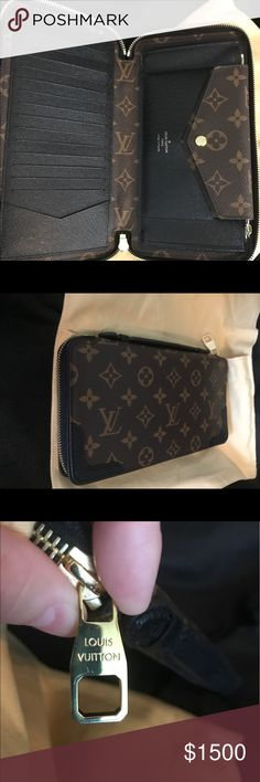 Authentic Louis Vuitton Daily Organiser Noir Authentic Like New Daily Organiser in Noir/Black- dust bag included with purchase. Posh price is firm due to fees- I am sorry. 1200 🅿️🅿️ invoiced. Feel free to reach out with extra questions or if needed more photos Louis Vuitton Bags Travel Bags