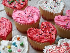 Cupcakes for Valentine's Day!
