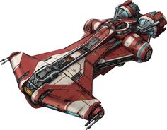 SWTOR - Jedi Starship by ~DoctorAnonimous on deviantART