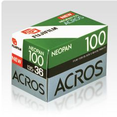Fujifilm USA | Neopan 100 Acros - For 35mm and Medium Format!