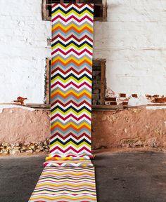 Armadillo&Co | Designer Collection - Chevron Multi-Colour. See more - http://armadillo-co.com/item-category/designer-collection/