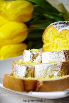 Babka złocista z przepisu od mamy Polish Recipes, Polish Food, Eat To Live, Cornbread, Food And Drink, Cookies, Baking, Aur, Ethnic Recipes