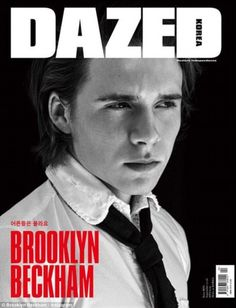Brooklyn Beckham looks so handsome on the cover of Dazed and Confused Korea!