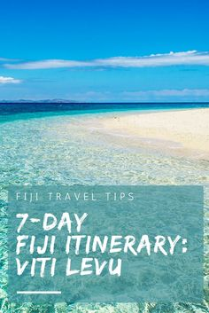 Your 7-day Fiji Itinerary for exploring Viti Levu
