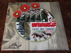 Jenny's Heart & Craft Corner: Australasian ANZAC Feature Blog Hop. Teamed the CTMH New Zealand Greetings and Australian Salutations to create single page layout