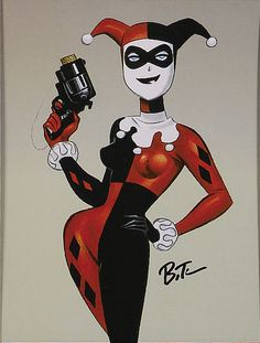 ✭ Harley Quinn by Bruce Timm