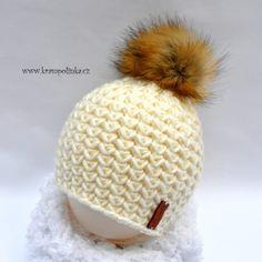 Kulíšek véčkový Tulip Big · Návody háčkování Krampolinka Crochet Cap, Crochet Beanie, Baby Blanket Crochet, Free Crochet, Tulips, Winter Hats, Crochet Patterns, Knitting, Handmade