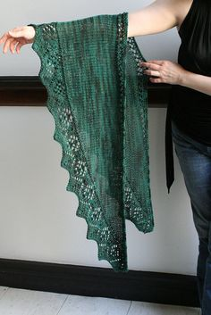 """Ravelry: Asking for Roses pattern by Amy Swenson Pattern: $5.00 Sport / 5 ply (12 wpi) ? Gauge: 14 stitches = 4"""" in loose stockinette, after blocking Needle: US 6 - 4.0 mm Yardage: 400 yards (366 m) Sizes: 68"""" long and 18"""" deep after blocking"""