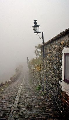Foggy Path, Monsaraz, Portugal photo via sam (Blue Pueblo) The Places Youll Go, Places To See, Beautiful World, Beautiful Places, Magic Places, Monsaraz, Misty Day, Spain And Portugal, Portugal Travel