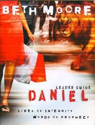 I am LOVING this study on Daniel by Beth Moore! Not one moment spent in Bible study will ever be waisted. It is our hope of resisting the deep indoctrination of worldliness. Help us Lord. We are weak in our natural selves. Romans 6:19 - http://ift.tt/1HQJd81