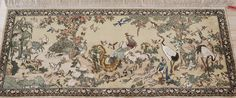 art decor tapestry 100%hand-knotted material:silk please contact email:office@yilongcarpet.com get more informational Contact Email, Art Decor, Vintage World Maps, Carpet, Tapestry, Silk, Rugs, Handmade, Hanging Tapestry