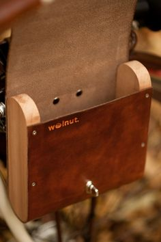 Supermarket - Bicycle Pocket Pannier from Walnut Studiolo