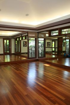 We have a studio where exercise, dance, yoga, health and happiness is in abundance.