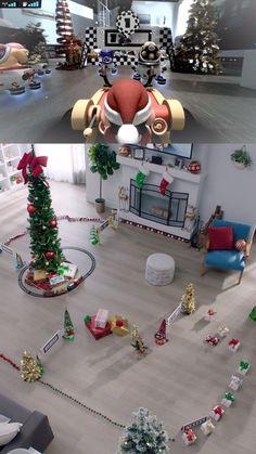 Mario Kart, Around The Corner, Nintendo, Snow, America, Holidays, Table Decorations, Cover, Furniture