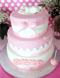 Batizado Vintage - Decoração personalizada - Cake Design / docinhos personalizados /ofertas / protocolo tudo da Docinhos da Avó