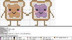 PBJ XStitch Pattern by ~aeiouna on deviantART