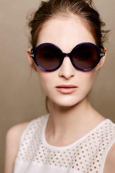 ett:twa Torill Sunglasses - sapphire anthropologie.com 2015