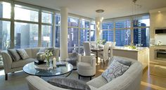 the only way I would consider living in NYC, would be if it were in this penthouse. Ballin'! HAHA Yeah right.