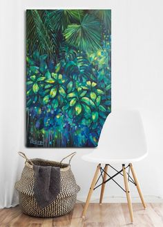 Read information on painting room inspiration Check the webpage to learn more. Rearranging Living Room, Forest Painting, Painting Art, Painting Styles, Painting Classes, Jungle Art, Tropical Decor, Wall Art Designs, Room Paint