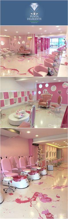 Home nail salon decorating inspiration ideas | nail technician room ideas | nail room ideas