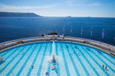 Credit: Steve Vidler/Corbis Another lovely UK recommendation is the Tinside pool, a 1935 art deco lido in Plymouth, Devon, from @ElizabethAnnCheeseright
