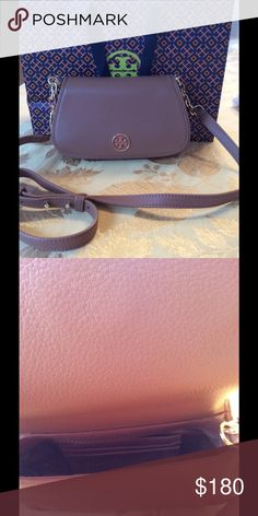Tory Burch Crossbody Bag NWT Brand New! Tan and matches the TB sandals I have listed. Inside has slides for credit cards. Magnetic closure. NO TRADES Tory Burch Bags