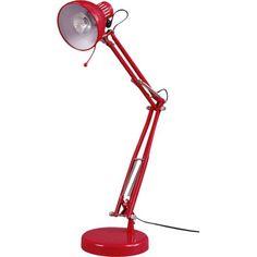 Lampe en mtal rouge H 49 cm PATERSON Rtt Pinterest Rouge