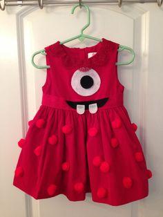 Yo Gabba Gabba Red Muno Dress
