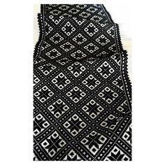 Forkleborden snart ferdig #svartsøm #smøyg #hardanger #sewing #odda #vinterbunad #stitches Sewing Projects, Ornaments, Pattern, Image, Instagram, Tops, Women, Fashion, Hardanger