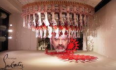 A girl can never have too many heels, Christian Louboutin pop up shop in the Concept Store.