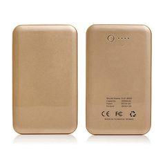 20000mAh Universal Smartphone & Tablet Portable Power Bank - Gold