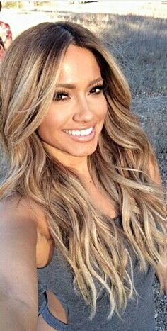Adorable 100 Makeup Looks For Ladies To Try Hair Color Balayage, Hair Highlights, Ombre Hair, Love Hair, Great Hair, Gorgeous Hair, Coiffure Hair, Hair Color And Cut, Hair Dos