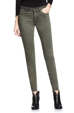 Free shipping and returns on Two by Vince Camuto Colored Five Pocket Skinny Jeans at Nordstrom.com. Available in washed grey or olive-green denim, classic five-pocket jeans are crafted from comfortable stretch denim and designed in a curve-hugging, skinny silhouette.