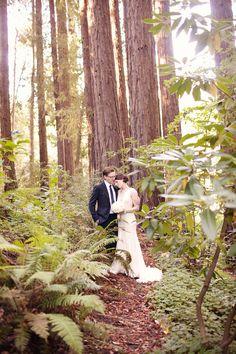 Nostalgic Woodsy Wedding