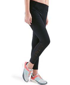 Legging 3 tejidos tobillero - Fitness.