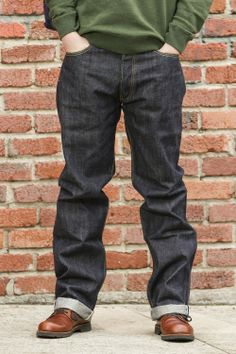 Sugar Cane Raw Denim Jeans - Massdrop