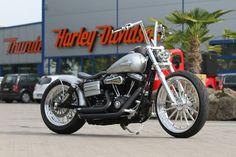 """Harley-Davidson Dyna Street Bob """"Silver Shadow"""" by Thunderbike"""