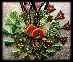 Christmas decorations made by Ar-Mari Rubenian...